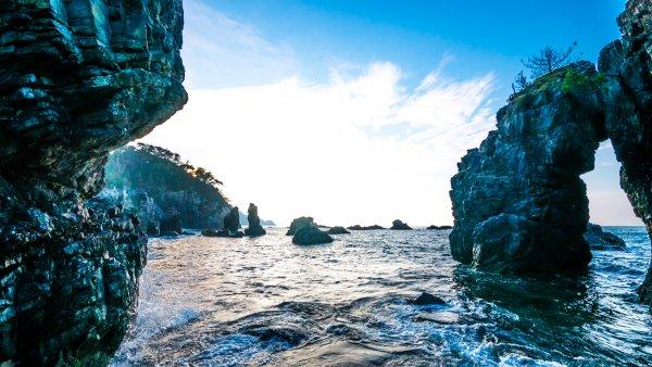 長門 青海島(海上アルプス)